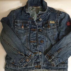 Levi's little girl size 5x denim jacket